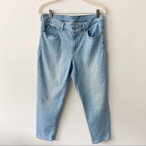 Levi's Ankle Jeans High Waist Sz 8